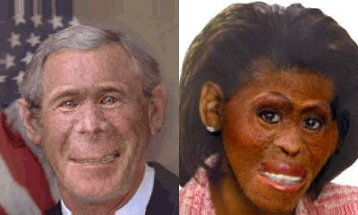 Dubya and Michelle?